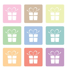 Presents pastels vector