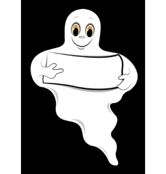 ghost cartoons vector image vector image