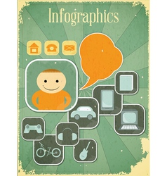 People infographics vector