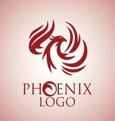 phoenix logo 6 vector image