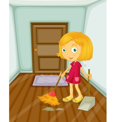 Sweeping vector image