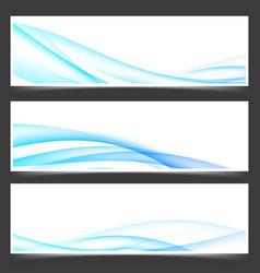 Swoosh blue power energy futuristic header vector