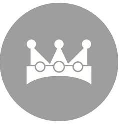 king crown vector image