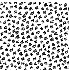 Abstract seamless hand-drawn scribbles pattern vector