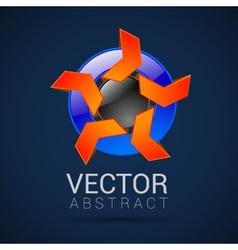 abstract logo design template abstract vector image
