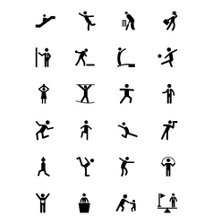 Human icons 12 vector