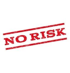 No risk watermark stamp vector