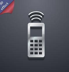 remote control icon symbol 3D style Trendy modern vector image vector image