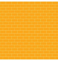 Pattern brick and background vector