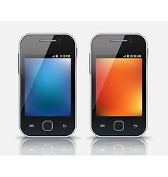 Mobile phones eps 10 vector image