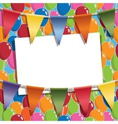 Party card vector