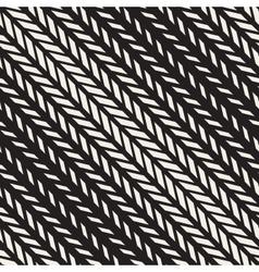 Seamless Black And White Rectangle Diagonal vector image