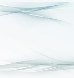 transparent abstract swoosh wave lines folder vector image vector image