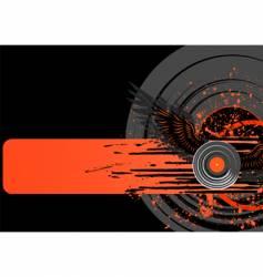 vinyl grunge vector image vector image