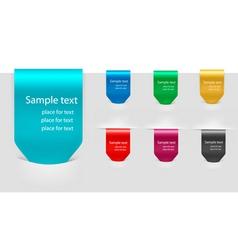 set of labels badges vector image
