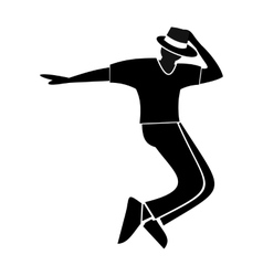 Dance simple symbol vector