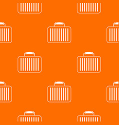 briefcase pattern seamless vector image vector image