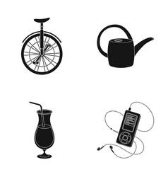 Circus alcohol and other web icon in black style vector