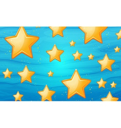 Star background vector
