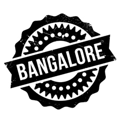 Bangalore stamp rubber grunge vector