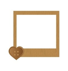 Cute frame decoration vector image