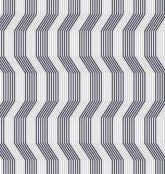 Gray ornament with warping stripes thick vector
