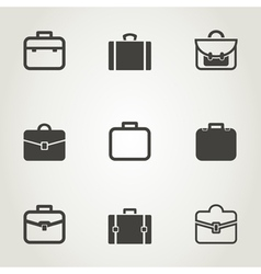 Portfolio an icon vector