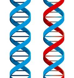 DNA symbol vector image