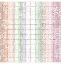 Seamless paisley tile vector