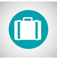 Briefcase icon design vector