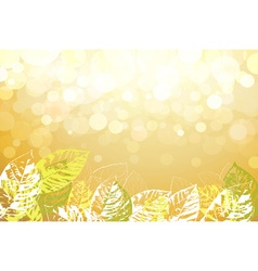 Spring floral backdrop vector