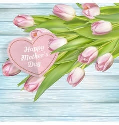 Mothers day card eps 10 vector