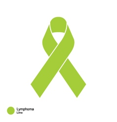 Lymphoma ribbon vector