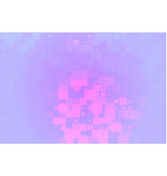 Pink purple lilac glowing various tiles background vector