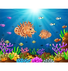 under the sea vector image vector image