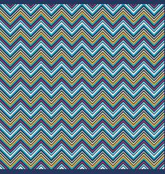 Vivid zigzag geometric seamless pattern vector