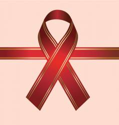 Hiv ribbon vector