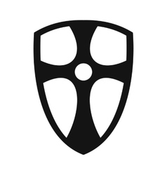Best shield simple icon vector