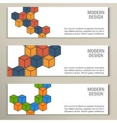 Beautiful pattern of the hexagonal net vector image