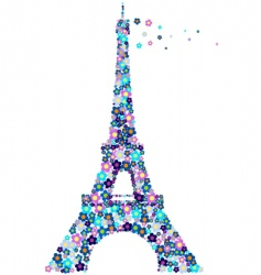 Eifel tower vector image