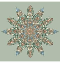 Hand drawn floral designs vector