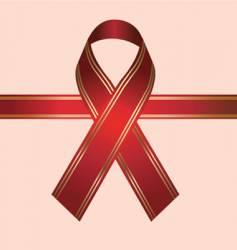 Hiv ribbon vector