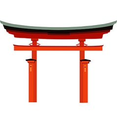 Japan gate vector