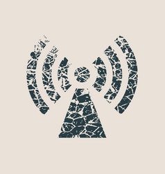 Wi fi wireless network symbol vector