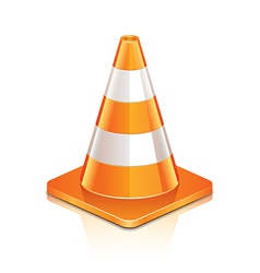 Object road cone vector