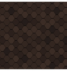 Clay Roof Tiles Seamless Texture vector image