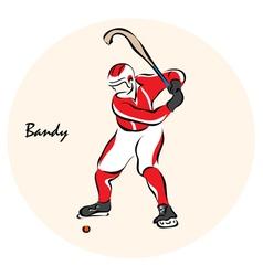Bandy vector image vector image