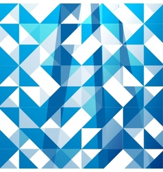 Blue modern geometric design template abstract vector image vector image