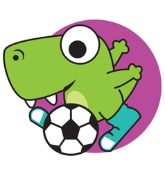 Dinosaur Sports vector image