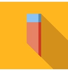 Eraser flat icon vector image